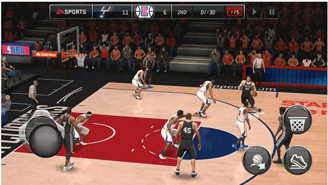 NBA Live Mobile-Vague and Not Intelligent