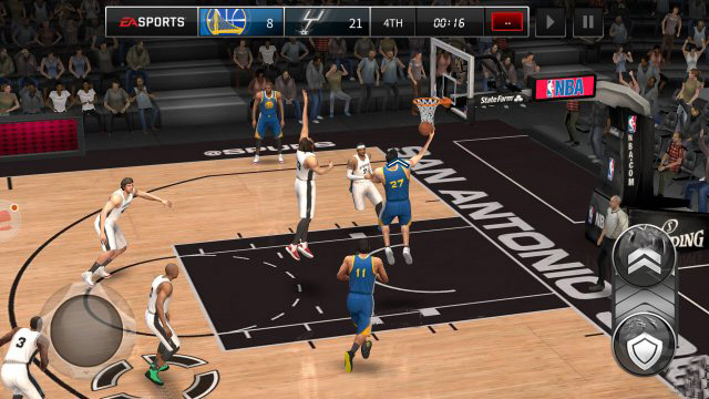 NBA Live Mobile-disobey the rule